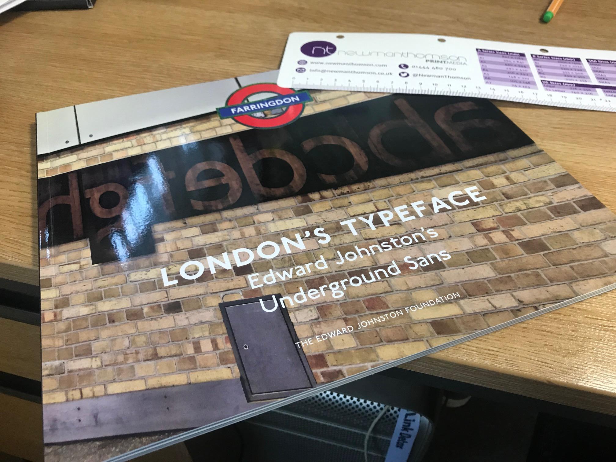 London's Typeface Book